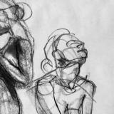 gesture drawings five minutes