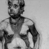 male figure longer pose