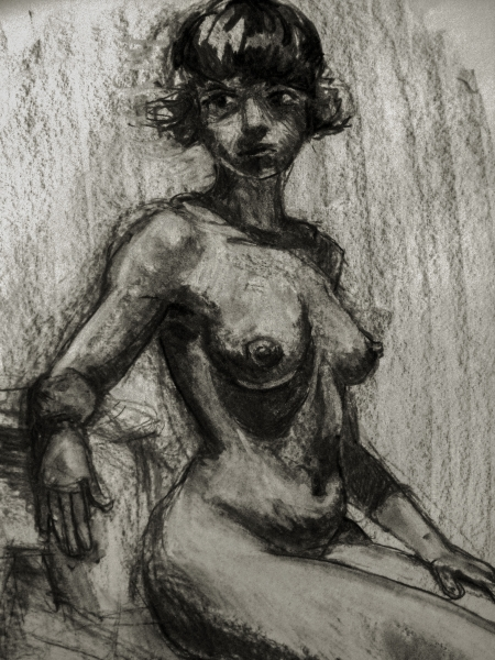 figure seated